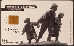 Telefonkarte Malta - Skulptur - A. Sciortino - Malte