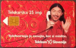 Telefonkarte Slowenien - Werbung - Telefonieren - Slovenië
