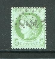 FRANCE- Y&T N°53- GC 2488 (MONTMARTRE 60) - 1849-1876: Klassik