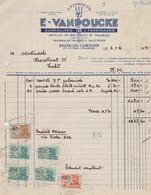 E.Vanpoucke - Bruxelles - Cureghem / Quincaillerie & Ferronnerie / 1950 - Belgium