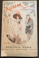 Programme Alcazar Saison 1914 - Programmes