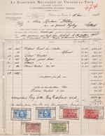 Saboterie De VILLERS-LA-TOUR  / Chimay >> Lessines 11 Mai 1928 - Belgique