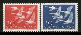 Finland 1956 Finlandia / Birds Norden Joint Issue MNH Vögel Aves Oiseaux / Cu13911  5-7 - Pájaros