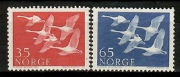 Norway 1956 Noruega / Birds Norden Joint Issue MNH Vögel Aves Oiseaux / Cu13914  5-8 - Pájaros
