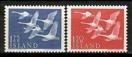 Iceland 1956 Islandia / Birds Norden Joint Issue MNH Vögel Aves Oiseaux / Cu13915  5-8 - Pájaros