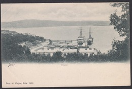 CPA -  Croatia, POLA / PULA, Fisella - Kroatien