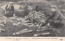 LA CUEILLETTE DES OBUS         GUERRE 14 18  WW1   ELD EDITEUR - Weltkrieg 1914-18