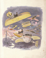 Rare Grand Menu Illustré Par Robida 288ém Diner De La Marmite 21 Janvier 1910 Avion Aviation Au Palais D'orsay - Menükarten