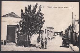 CPA - Tunsie, FERRYVILLE, Rue Hoche - LL 45 - Tunisia