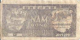 VIET NAM  5 DONG ND1948 VG+ P 17 - Vietnam