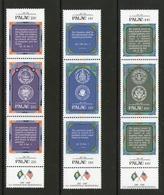 PALAU 1987 CONSTITUTION USA   YVERT N°179/87  NEUF MNH** - Palau