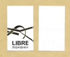 Carte Parfumée Perfume Card LIBRE * YVES SAINT LAURENT YSL * R/V - Modernes (à Partir De 1961)