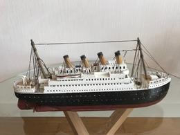 Reproduction Libre Du TITANIC - Barcos