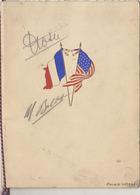 Rare Menu Aviation Autographe Banquet Aviateur Costes Et Bellonte - Avion Paris New York 1930 Au Palais D'orsay - Menus