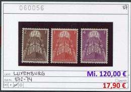 Luxemburg - Luxembourg - Michel  572-574 - ** Mnh Neuf Postfris - CEPT - EUROPA - Michel 150,00 € - Luxemburg