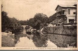 CHATEAU THEBAUD LE BATEAU DE VERTOU DEVANT LA CARRIERE - Batz-sur-Mer (Bourg De B.)