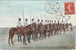 EVREUX  Cavalerie   Tampons Poste 1909 - Evreux