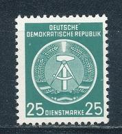 DDR Dienstmarken A 10 X YI ** Geprüft Weigelt Mi. 20,- - Dienstpost