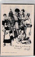 Aucune Te Ces Tames Ne Nous .. Illustrateur A Mercoyrol - Patriotic