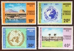 Trinidad & Tobago 1973 Anniversaries MNH - Trinidad & Tobago (1962-...)