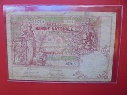 BELGIQUE 20 FRANCS 1913 CIRCULER (B.7) - [ 2] 1831-... : Regno Del Belgio
