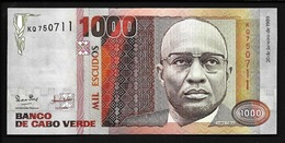 CAPE VERDE  1000 ESCUDOS  1989  UNC - Cape Verde