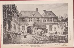 Antwerpen Anvers L' Hospice De Ste Anne En 1878 (In Zeer Goede Staat) - Antwerpen