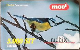 Prepaidcard Slowenien - Vogel,bird - Blaumeise - 12/2001 - Slovenië