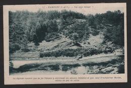 PAIMPONT ,ille Et Vilaine,Val Sans Retour ( édition Gouin )la Fée Viviane Y Enfermait Ses Amants Infidèles - Paimpont