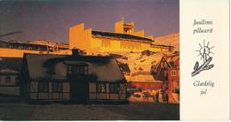 Greenland Postcard Christmas Sent To Denmark 3-12-1981 (Old House New Church Qaqortog) - Greenland