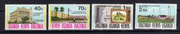KUT Kenya Uganda Tanzania 1974 Revolution De Zanzibar Yv 264/267 MNH ** - Kenya, Uganda & Tanzania