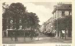 (LORIENT )( 56 MORBIHAN ) RUE DU MARECHAL FOCH - Lorient