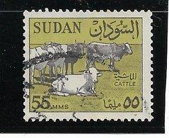 B8 - Soudan Poste 151 Oblitéré De 1962 - Faune - Vaches - - Sud-Soudan