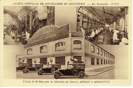 SAINT OUEN USINE APOLLO 1950 - Saint Ouen