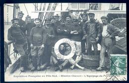 Cpa Du 35 équipage Du Pourquoi Pas De St Malo Expédition Française Au Pôle Sud Commandant Charcot    LZ33 - Saint Malo