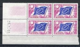 RC 13412 FRANCE SERVICE N° 32 DRAPEAU COIN DATÉ NEUF ** - Coins Datés