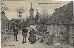 29   Bodilis L'entree D'un Village Breton - Other Municipalities