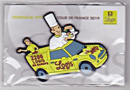 Magnet Logis - Tour De France 2019, Voiture De La Caravane Publicitaire - Magnets