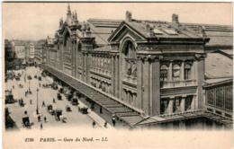 5THE 234 CPA - PARIS - GARE DU NORD - France