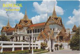 Thailand Postcard Sent To Sweden (The Royal Grand Palace Bangkok) - Thailand