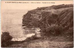51zd 67 CPA - SAINTE MARIE SUR MER - COTE DU SABLON - ROCHER DE LA VIERGE - France