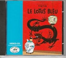 Tintin : Vidéo-CD Tintin Et Le Lotus Bleu En Version Française De 1995 ( Voir Photos ). - Disques & CD