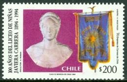 CHILE 1994 JAVIERA CARRERA SCHOOL** (MNH) - Cile