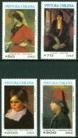CHILE 1991 PAINTINGS** (MNH) - Cile
