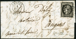 Lettre N°3i 20c Gris S/lettre, Qualité Standard Signé Calves - B - 1849-1850 Cérès