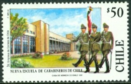 CHILE 1991 CARABINEROS POLICE ACADEMY** (MNH) - Chile