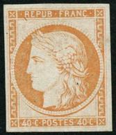 ** N°5g 40c Orange, Réimp  - TB. - 1849-1850 Ceres
