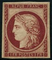 ** N°6F 1F Carmin - TB - 1849-1850 Ceres
