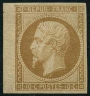** N°9e 10c Bistre, Réimp - TB - 1852 Luis-Napoléon