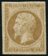 ** N°9e 10c Bistre, Réimp - TB - 1852 Louis-Napoleon